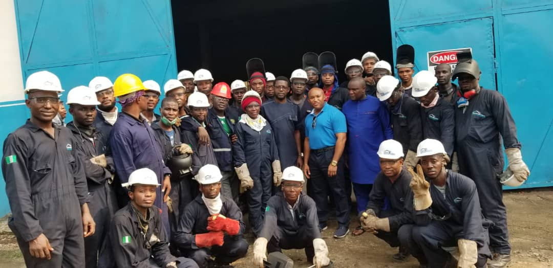 Welding training school in Nigeria