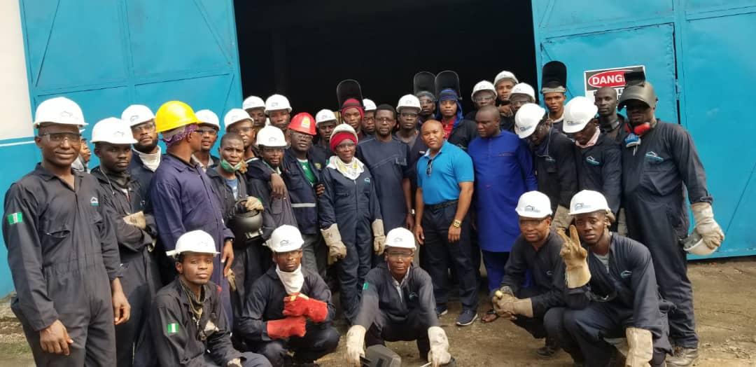 Welding training school in Nigeria